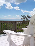 Cadeira de relaxamento imagens de stock