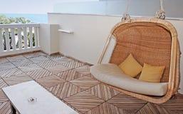 Cadeira de relaxamento Fotos de Stock Royalty Free