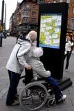 Cadeira de roda Imagem de Stock