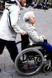 Cadeira de roda Imagens de Stock