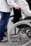 Cadeira de roda Imagens de Stock Royalty Free