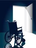 Cadeira de rodas Ilustração Stock
