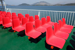 Cadeira de Stadim Imagem de Stock