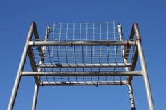 Cadeira do árbitro do tênis Foto de Stock