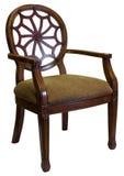 Cadeira do acento na madeira da cereja Foto de Stock Royalty Free