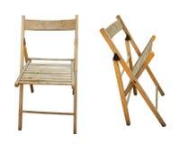 Cadeira do assento de jardim em vistas diferentes Foto de Stock