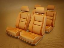 Cadeira do carro Imagens de Stock
