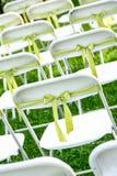 Cadeira do casamento Imagens de Stock