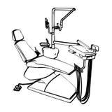 Cadeira do dentista Fotos de Stock Royalty Free