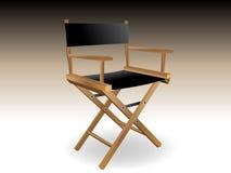 Cadeira do diretor Foto de Stock