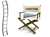 Cadeira do diretor Imagem de Stock Royalty Free