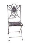 Cadeira do ferro, isolada Imagem de Stock Royalty Free