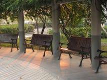 Cadeira do jardim Fotografia de Stock Royalty Free