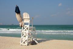 Cadeira do Lifeguard Imagem de Stock Royalty Free