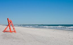 Cadeira do Lifeguard Fotos de Stock