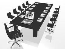 Cadeira do negócio Fotografia de Stock Royalty Free