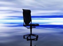 Cadeira do negócio ilustração stock