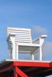 Cadeira do protetor de vida Fotografia de Stock