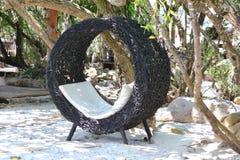 Cadeira do Rattan Foto de Stock