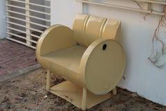 Cadeira do tambor Imagens de Stock