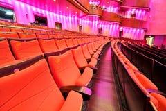 Cadeira do teatro foto de stock