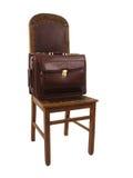 Cadeira e caso - 2 Fotos de Stock Royalty Free