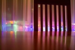 Cadeira e luzes Imagem de Stock