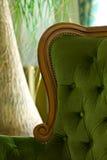 Cadeira enchida luxuoso imagem de stock