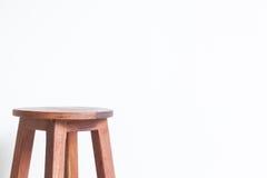 Cadeira feita da madeira Imagens de Stock Royalty Free