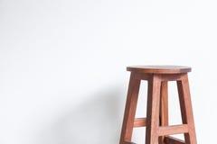 Cadeira feita da madeira Fotografia de Stock