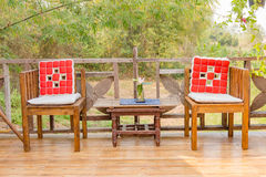 Cadeira gêmea Foto de Stock
