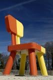 Cadeira gigante imagem de stock