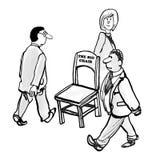 Cadeira grande ilustração stock