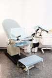 Cadeira Gynecological fotos de stock royalty free