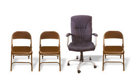 Cadeira luxuosa Foto de Stock Royalty Free