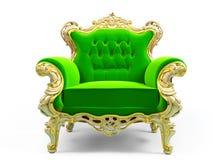 Cadeira luxuosa clássica Imagem de Stock Royalty Free