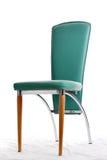 Cadeira à moda verde Fotos de Stock