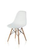 Cadeira moderna com pés de madeira Foto de Stock