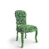 Cadeira molecular Ilustração do Vetor