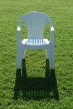 Cadeira na grama Fotografia de Stock