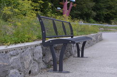 Cadeira na natureza Fotos de Stock