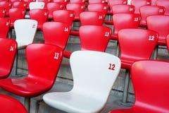 Cadeira nacional do estádio de Beijing fotografia de stock