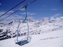 Cadeira nas montanhas Foto de Stock Royalty Free
