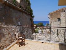 Cadeira no balcão Foto de Stock