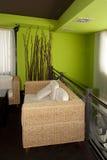 Cadeira no caffe Imagens de Stock