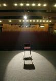 Cadeira no estágio Imagens de Stock Royalty Free