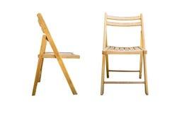 Cadeira no fundo branco Imagem de Stock Royalty Free