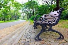 A cadeira no jardim Imagem de Stock Royalty Free
