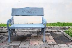 Cadeira no jardim Fotos de Stock