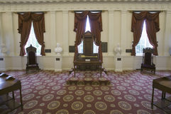 Cadeira original dos oradores da casa dos cidadãos Foto de Stock Royalty Free